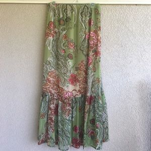 Rue 21 Boho Maxi Skirt